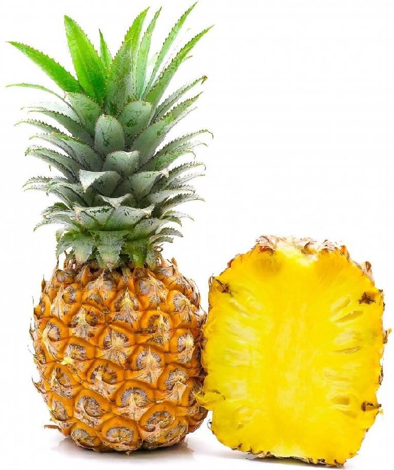 картинка и описание ананасами шаг